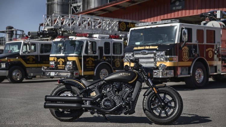 Jack Daniel's Limited Edition Indian Scout Bobber Photo ...