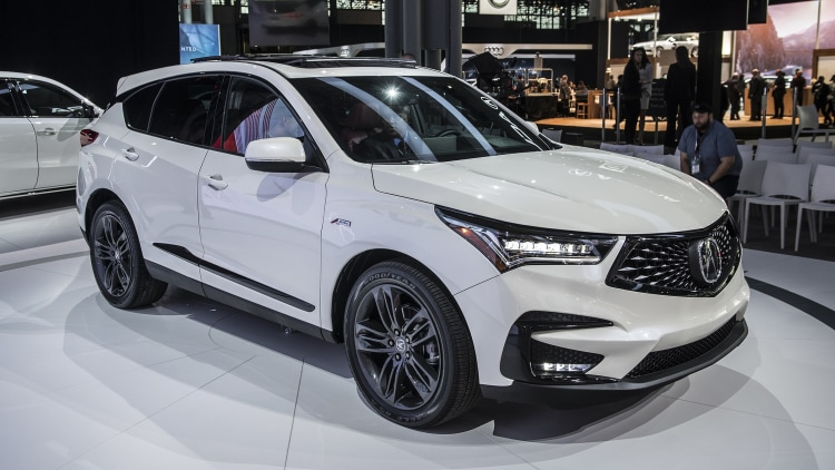 2019 Acura RDX A-Spec: New York 2018 Photo Gallery - Autoblog