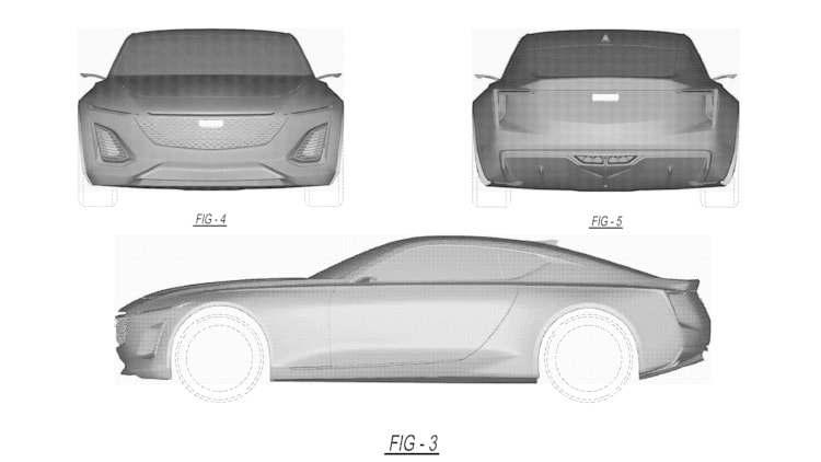 Cadillac Coupe Patent Drawings Photo Gallery - Autoblog