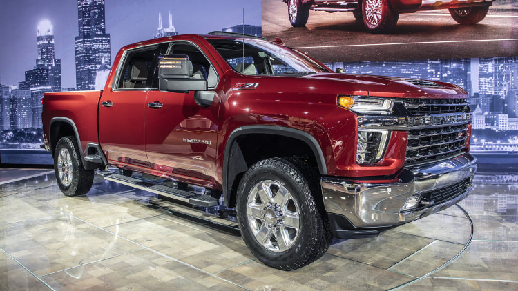 2020 Chevrolet Silverado HD: Chicago 2019 Photo Gallery ...