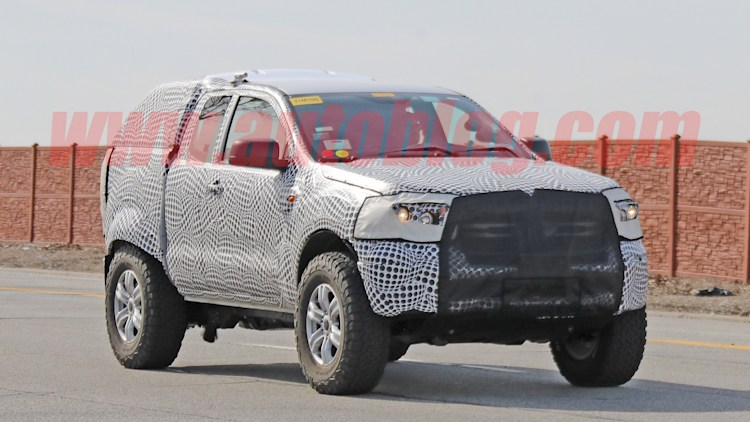2020 Ford Bronco: Spy Shots Photo Gallery
