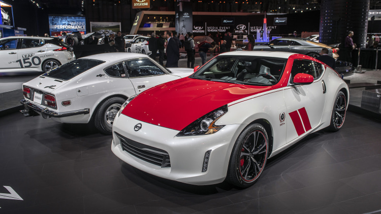 2020 nissan 370z 50th anniversary edition: new york 2019