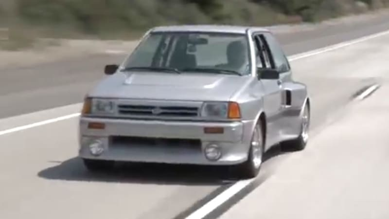 Jay Leno SHO-guns the Ford Festiva to its full potential