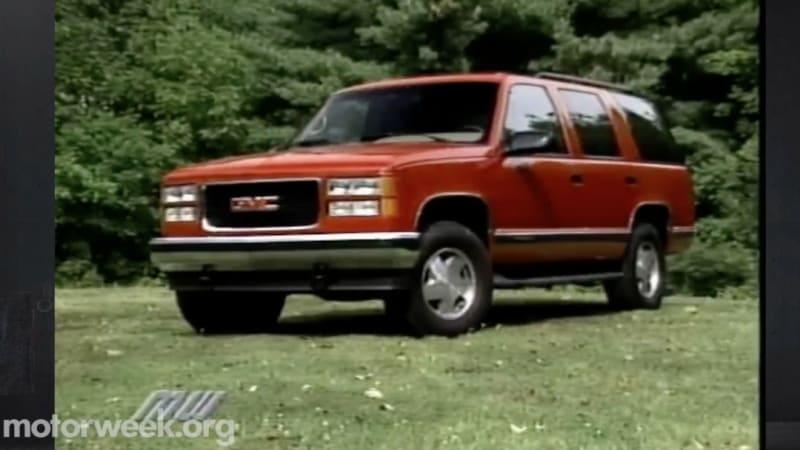 MotorWeek looks back at 1995 Chevy Tahoe, GMC Yukon