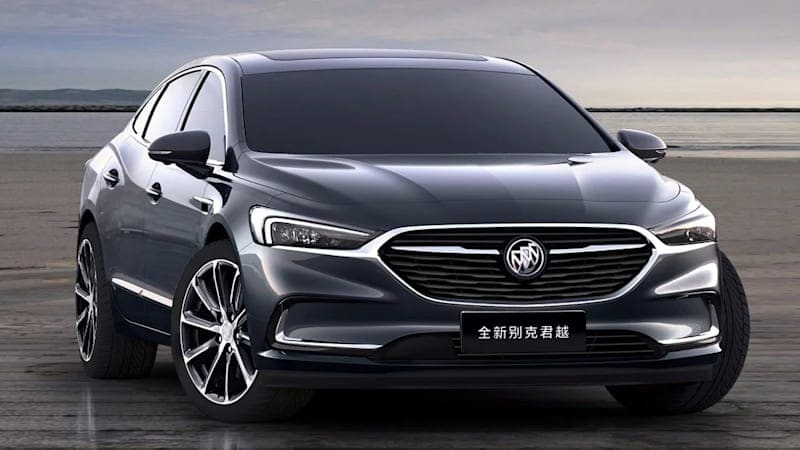 The 2020 Buick LaCrosse we won't get looks exceptional