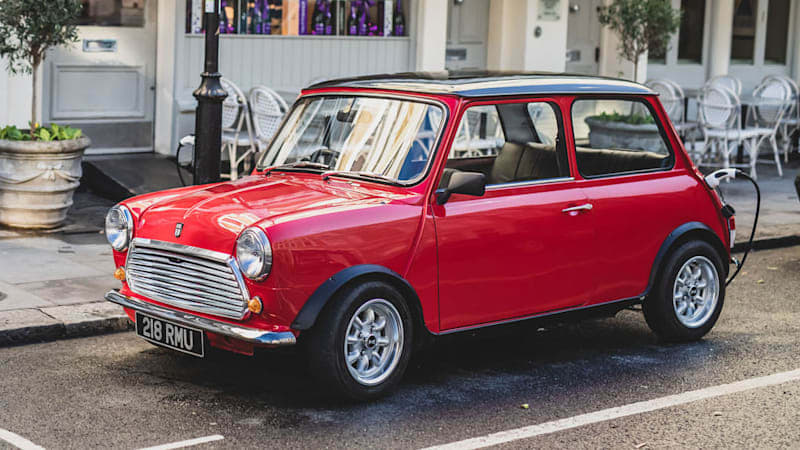 This classic electric Mini costs $100,000, but just look at it