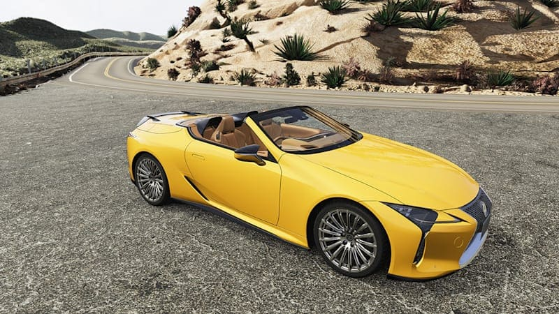 Lexus LC Coupe and Convertible add a bevy of official TRD parts