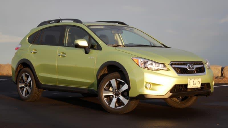Poor sales prompt Subaru to kill the Crosstrek Hybrid