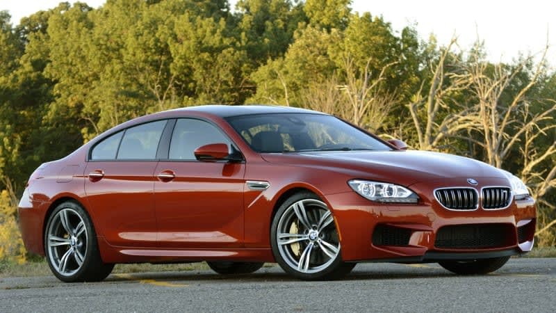 BMW recalls M5 and M6 for driveshaft failures