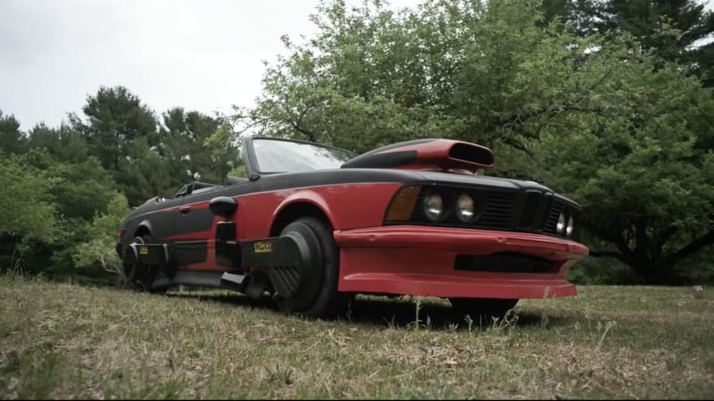 The Aficionauto gets his hands on Back To The Future BMW