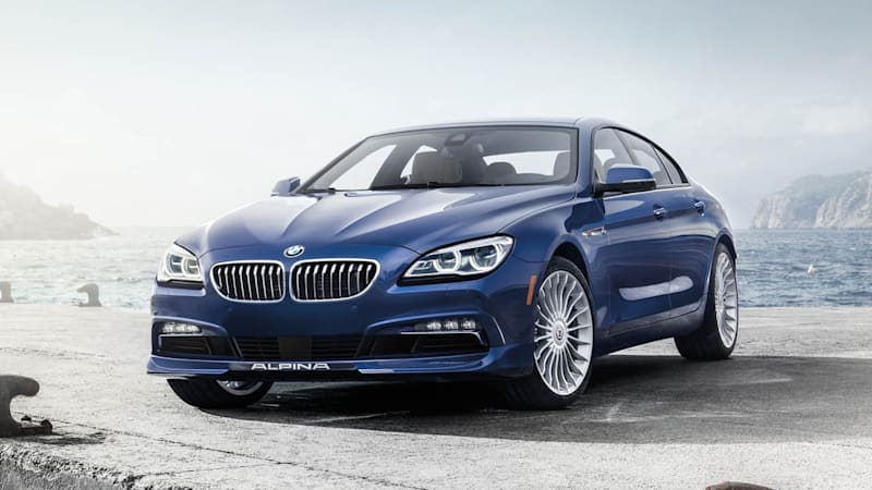 BMW reveals updated 2016 Alpina B6 xDrive Gran Coupe