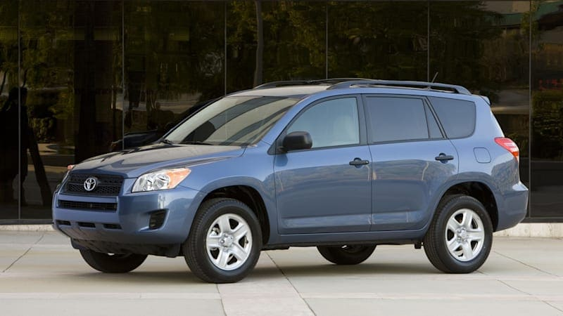Toyota recalls more than 1 million RAV4s for seatbelt problem