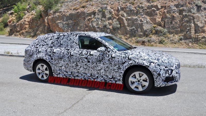 Audi A4 preps to go Allroad