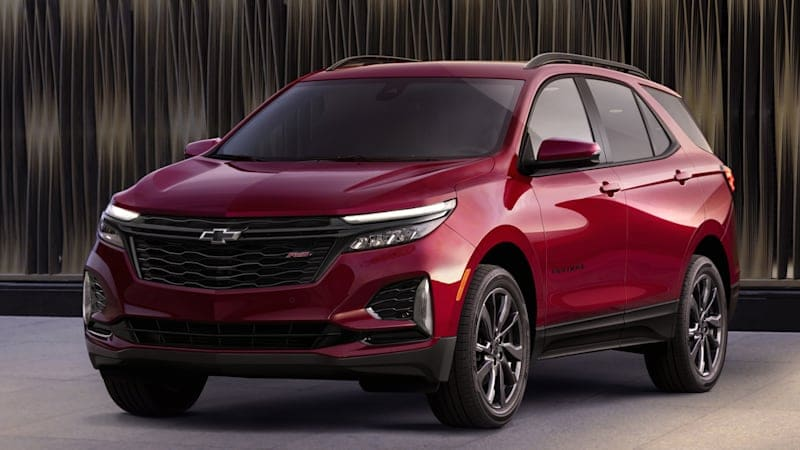 Refreshed 2021 Chevy Equinox gets expanded tech, new RS trim