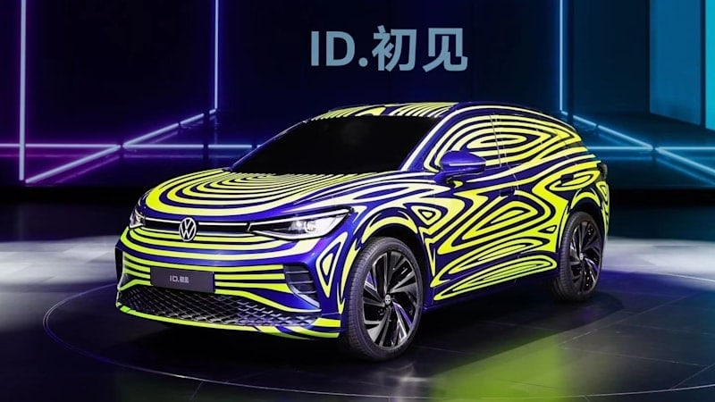 VW's ID.4 electric crossover will debut at the New York Auto Show in April