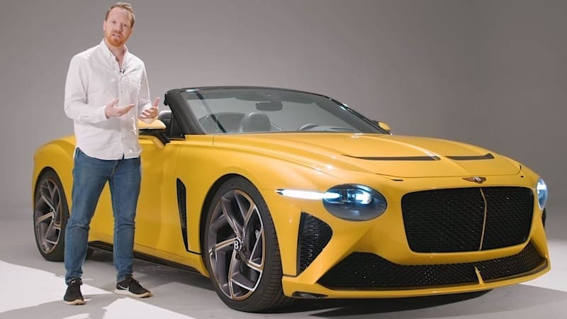 Take a closer look at the Bentley Bacalar with Top Gear