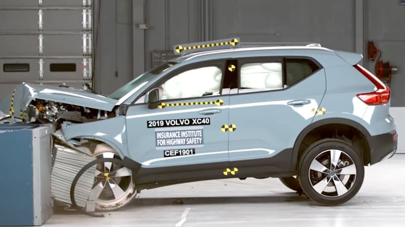 2019 Volvo XC40 and XC60 named IIHS Top Safety Picks