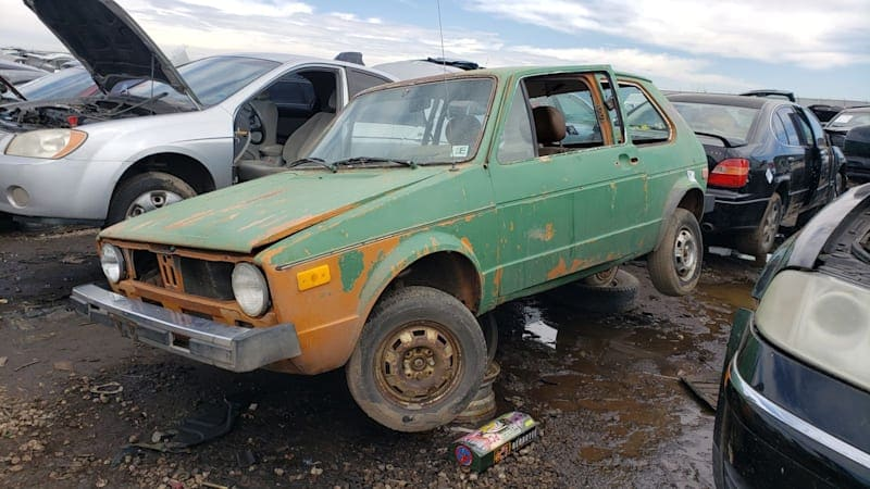 Junkyard Gem: 1977 Volkswagen Rabbit