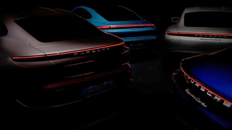 Porsche previews the next addition to the Taycan range