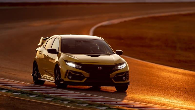 2021 Honda Civic Type R Limited Edition sets front-drive lap record at Suzuka Circuit
