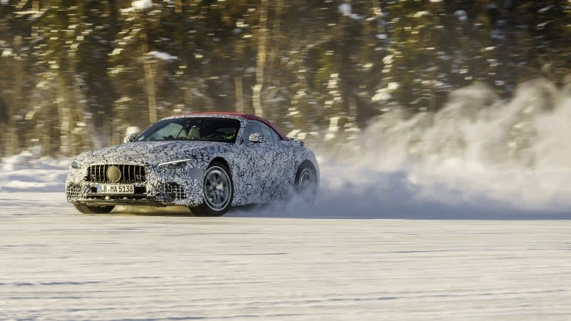 Don't call me Benz: 2022 Mercedes SL next-gen will be AMG-only and AWD