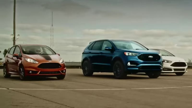 Ford Edge ST vs. Focus ST vs. Fiesta ST race: See which is quickest