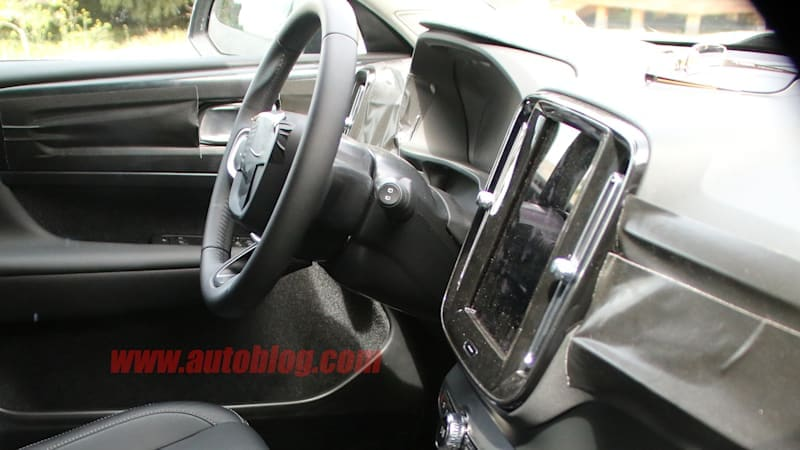 A first look at the Volvo XC40 interior