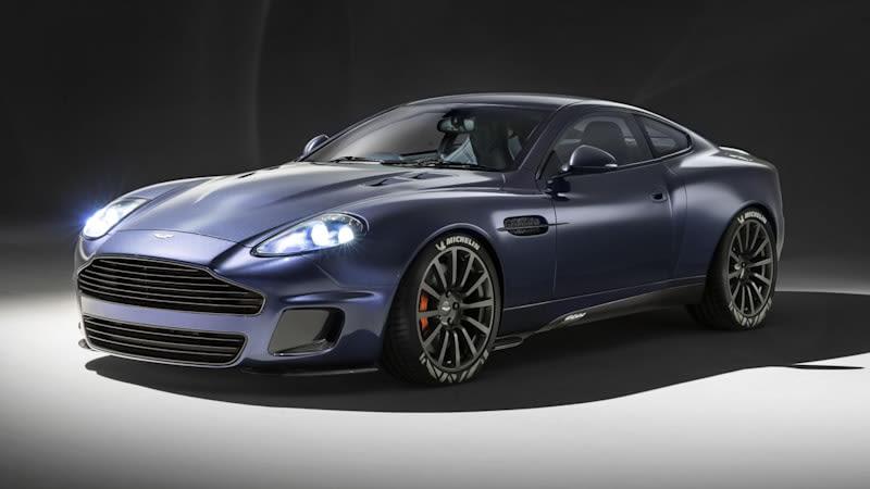 Aston Martin Vanquish 25 by Callum begins Ian Callum's next act