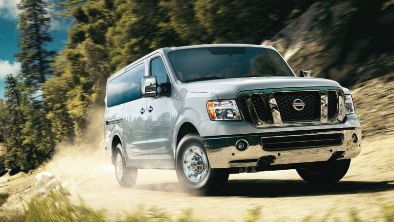 Nissan NV vans appear to be on the chopping block