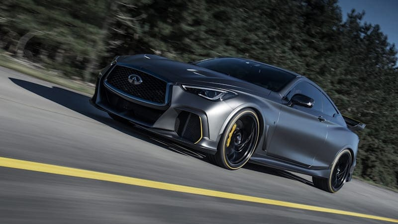 Infiniti Formula One-inspired Q60 Project Black S has been canned