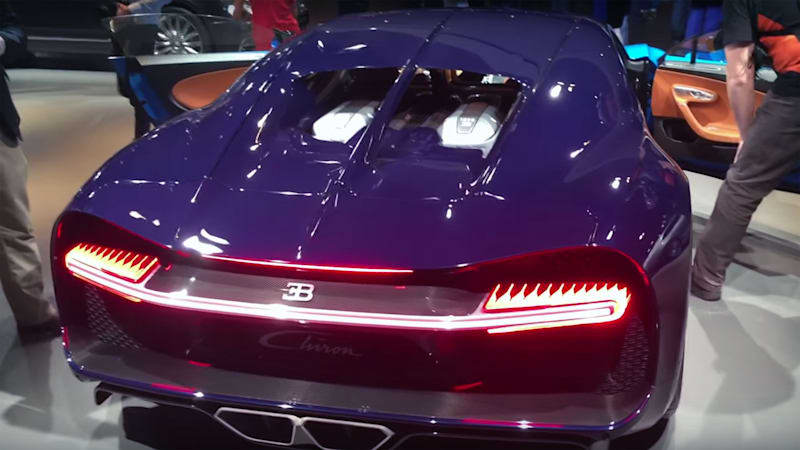 The Bugatti Chiron sounds like an absolute monster
