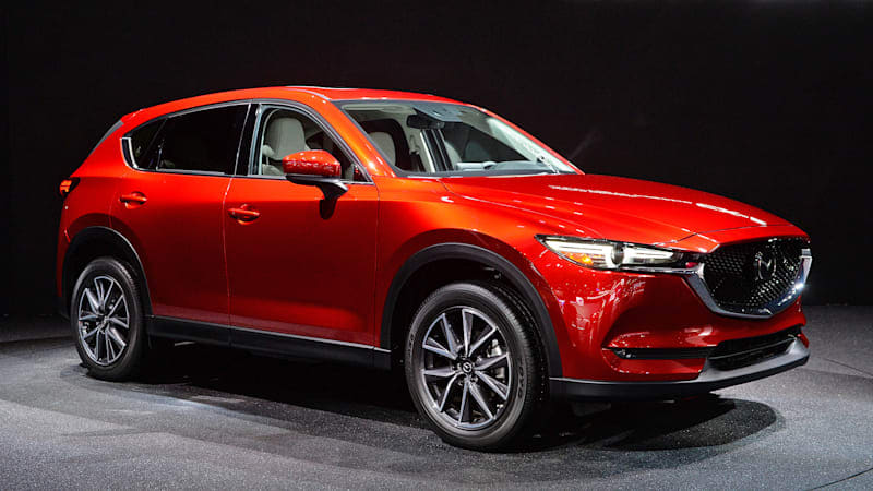 The 2017 Mazda CX-5 is new, and oh so very red