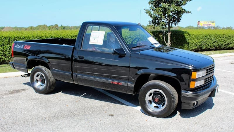 1990 Chevrolet C/K 454 SS with 26 miles costs more than a Toyota Supra