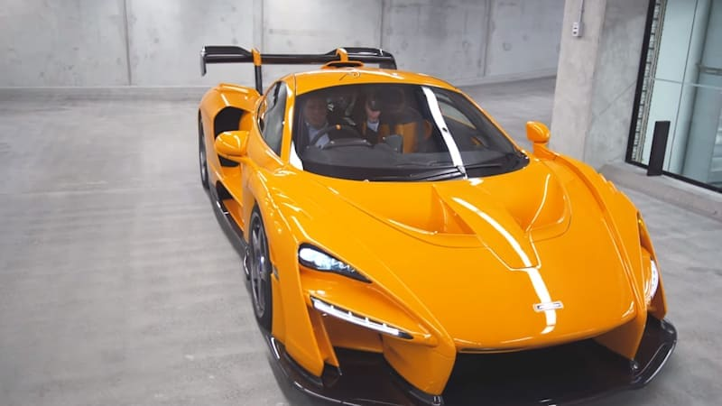 McLaren Senna LM gets a video walkaround