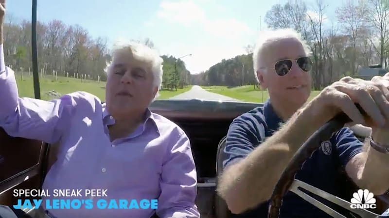 From the rearview mirror: Joe Biden and his 1967 Corvette Stingray on Jay Leno's Garage