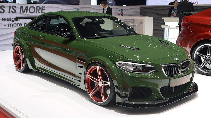 The 570-hp AC Schnitzer ACL2 Concept tries to one-up the M2
