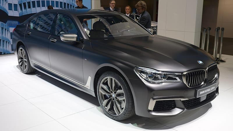 2017 BMW M760i xDrive is an M and a 7, but not an M7