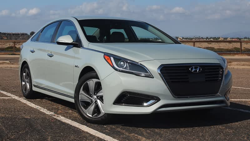 2016 Hyundai Sonata Hybrid and Plug-In First Drive