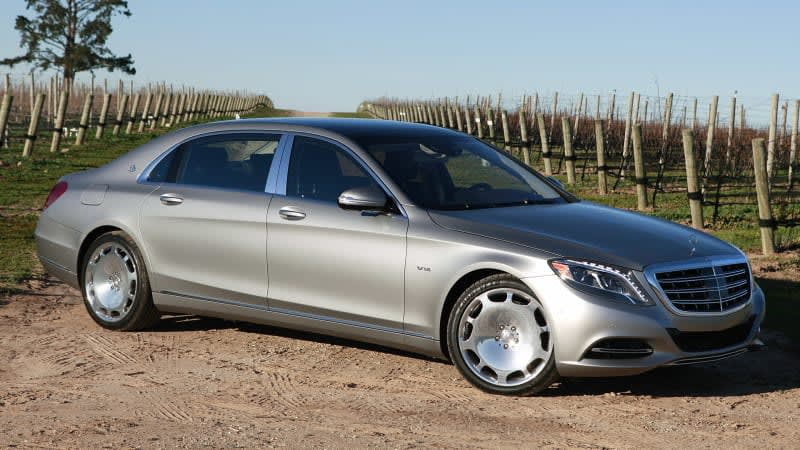 2016 Mercedes-Maybach S600 First Drive