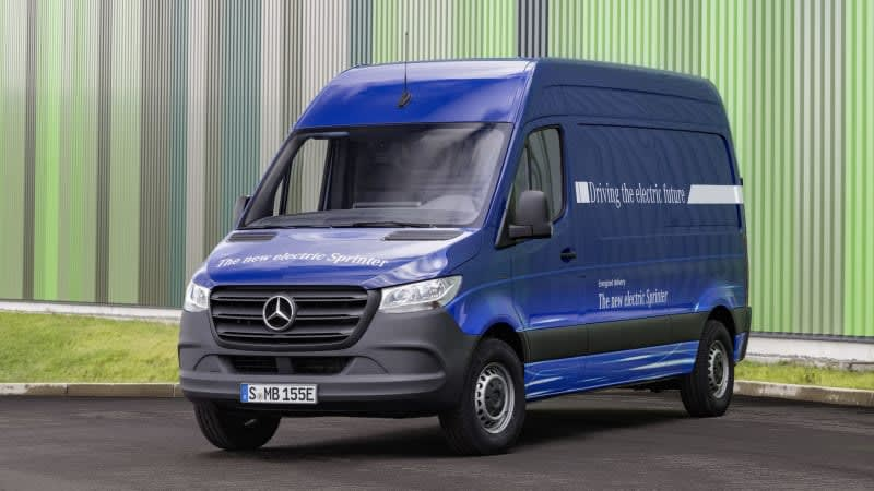 Mercedes-Benz eSprinter to get 93 miles of range, launches in 2019