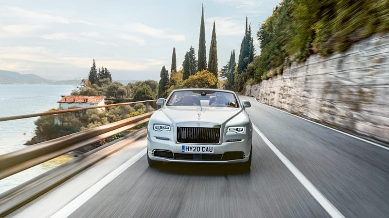 Rolls-Royce Dawn becomes two-seater Silver Bullet convertible