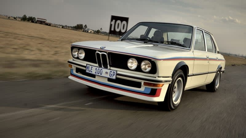 BMW of South Africa fully restores rare, home-grown 530 MLE