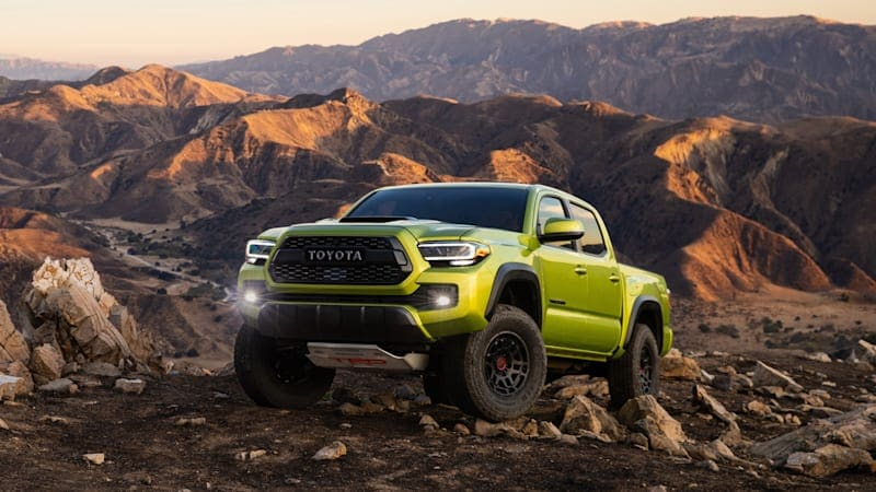 2022 Toyota Tacoma TRD Pro, Trail Edition get more off-road goodness