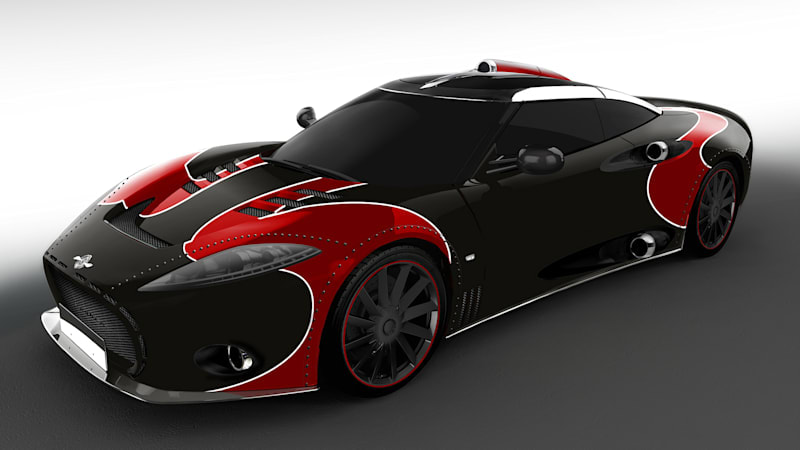 Spyker reveals special C8 Aileron LM85 to close out model's production