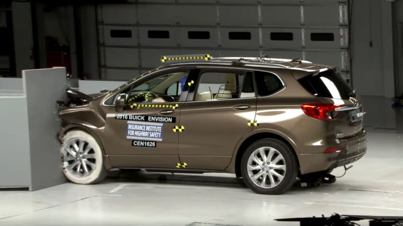 Buick Envision aces IIHS crash tests