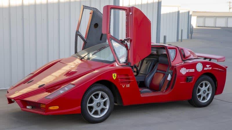 Want to buy a worst-in-show-winning Faux Ferrari Fiero?