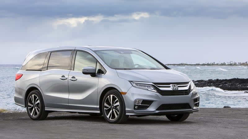 2018-2020 Honda Odysseys recalled over short circuit risk