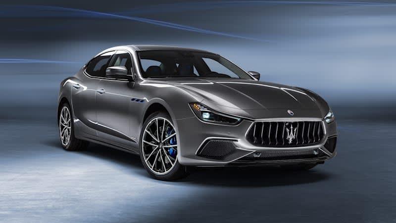 330-horsepower Ghibli Hybrid is Maserati's first electrified model