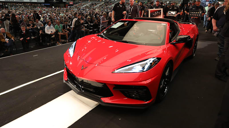 Top 5 most expensive cars at the 2020 Barrett-Jackson Scottsdale auction