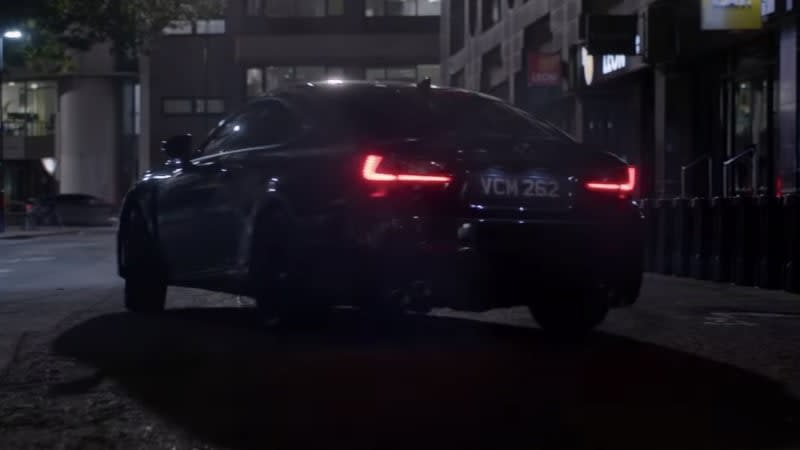 Lexus RC F takes star turn in 'Men in Black: International' blockbuster